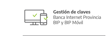 claves bip y bip movil